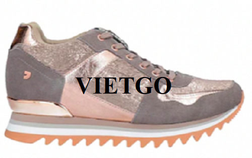 Opportunity to export designer sports shoes to the Spanish market