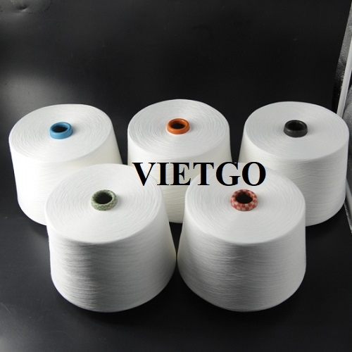 Opportunity to export 4 - 5 containers 40ft yarn products to the Indian market
