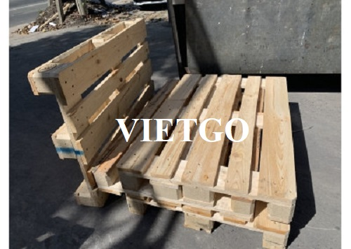 Turkish trader need to import 25,000 wooden pallets monthly to the Germany market