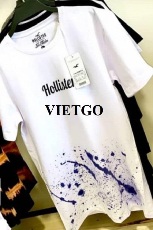 Cơ hội cung cấp T-shirt thời trang nam cho doanh nhân đến từ Iran