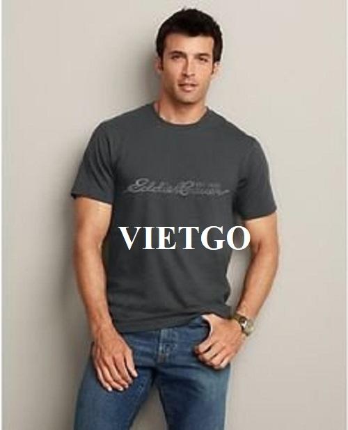 Cơ hội xuất khẩu mặt hàng áo T-shirt cho doanh nghiệp kinh doanh quần áo nam nổi tiếng tại Ấn Độ