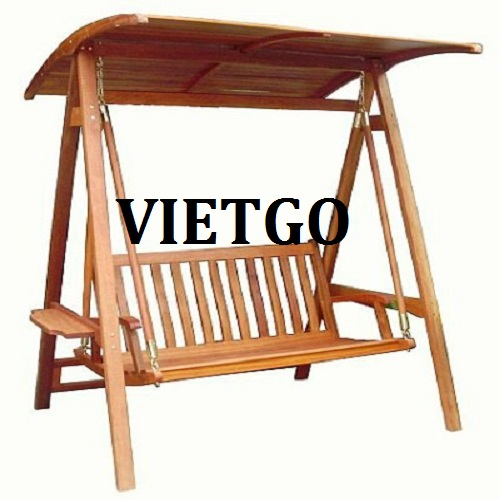 VIETGO would like to send you information about the wooden swing order from a potential customer, Mr. Jozef.