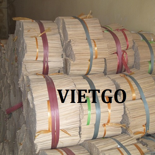   Opportunity to export bamboo sticks for an incense production facility in India