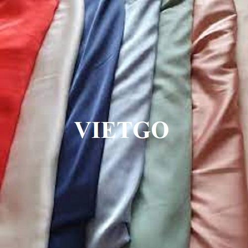 Cơ hội xuất khẩu mặt hàng vải cho một công ty thương mại về dệt may tại Bulgaria