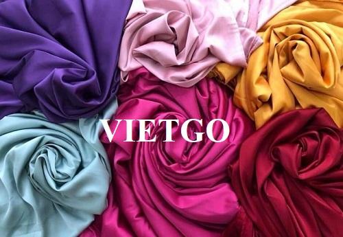 Cơ hội cung cấp vải may mặc sang thị trường Bangladesh
