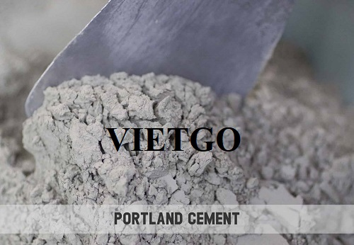 Opportunity to export 300,000 tons of Portland cement monthly to the US market
