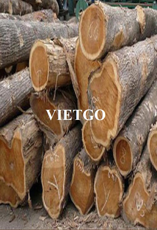 Opportunity to export teak logs to the Indian market