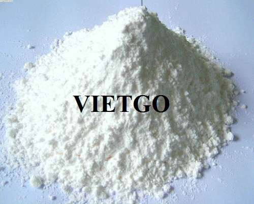 Opportunity to export 100 tons of tapioca starch monthly to the Philippines market  