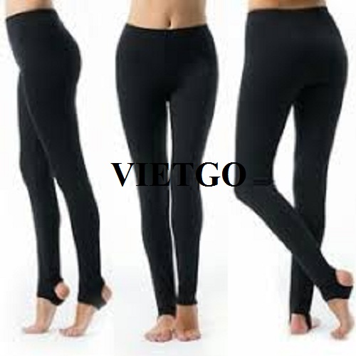 Cơ hội xuất khẩu mặt hàng quần legging nữ cho một công ty kinh doanh hàng may mặc tại Mỹ