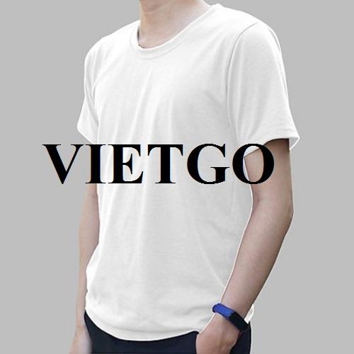 Cơ hội xuất khẩu mặt hàng áo T-shirt tới thị trường Ấn Độ