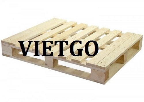Opportunity to export 1000 pcs pallets monthly for an US enterprise