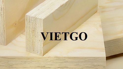 VIETGO would like to send you the order information from Mr. Jay with the need of sourcing LVL products to the Indian market.