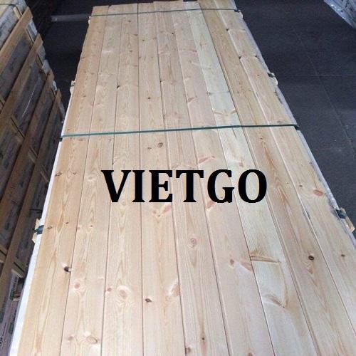 Cơ hội xuất khẩu 10 container 40ft gỗ thông xẻ hàng tháng sang thị trường Singapore