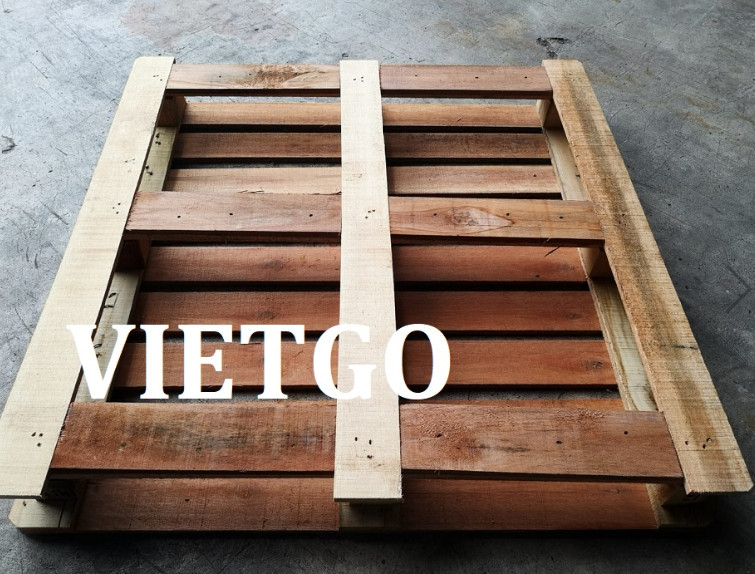 Singaporean trader is looking for wooden pallet suppliers