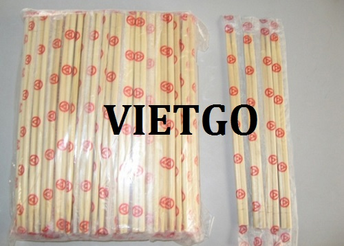 Opportunity to export bamboo chopsticks for Indian businesses dealing in disposable products