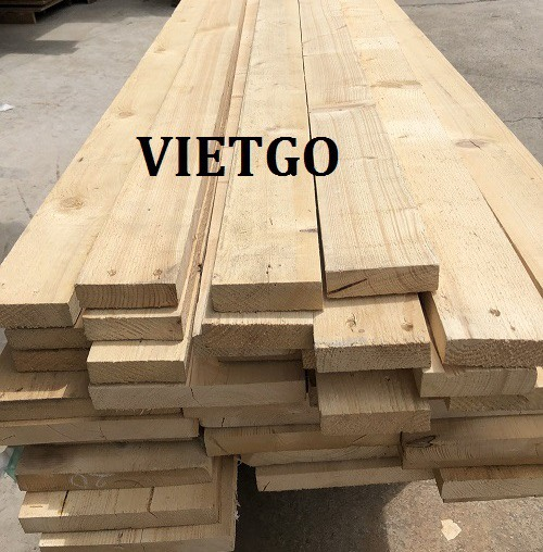 Opportunity to export pine timber to the Malaysian market