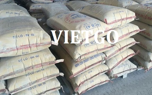 Opportunity to export 500,000 tons of cement for a construction company in Maldives