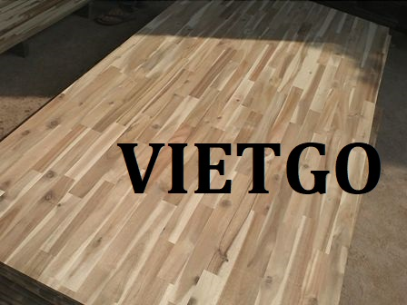Opportunity to export finger joint boards to the India market