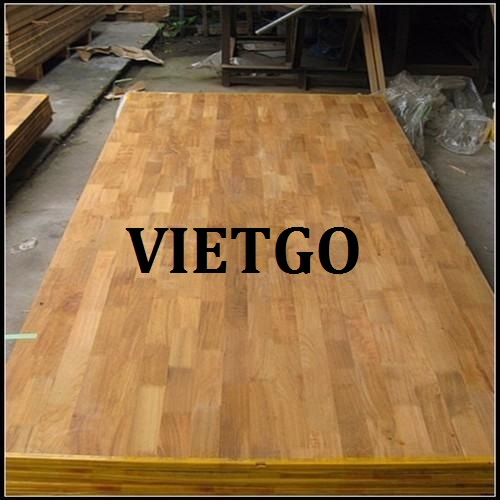 Opportunity to export teak wood finger joint boards to the Indian market