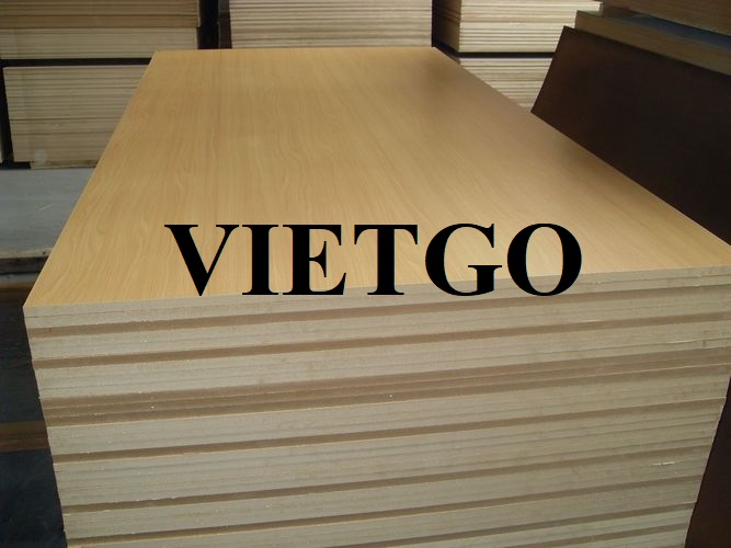 Opportunity to export 5 container 40ft of MDF boards monthly to the Colombia market