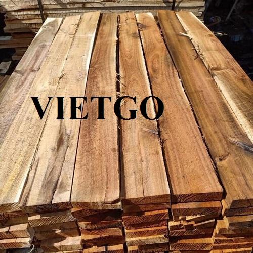 Cơ hội xuất khẩu 150m3 gỗ keo xẻ hàng tháng sang thị trường Ấn Độ