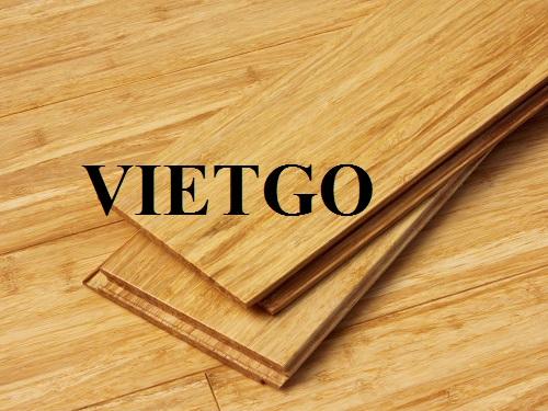 Cơ hội xuất khẩu 1.000m² ván sàn tre và ván sàn gỗ hàng tháng sang thị trường Ý