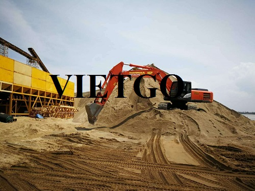 Opportunity to export 50,000 to 100,000 tons of river sand to the Chinese market every month