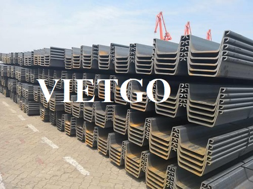 (Urgent) Opportunity to export large quantities of rebars and sheet piles to the Philippines market