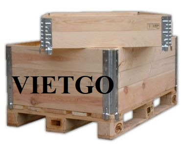 Dutch trader needs to import 15,000 wooden pallets per year for his business  