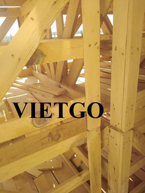 Thương nhân người Thổ Nhĩ Kỳ cần nhập khẩu 6 container 20ft gỗ thông xẻ cho dự án sản xuất pallet