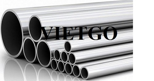 Opportunity to export 1 container of 20GP stainless steel pipe monthly to the Turkish market
