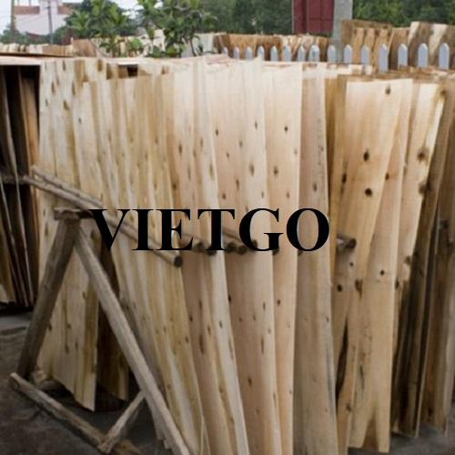 Cơ hội xuất khẩu 5 container 40'HC ván bóc gỗ keo mỗi tuần sang thị trường Trung Quốc