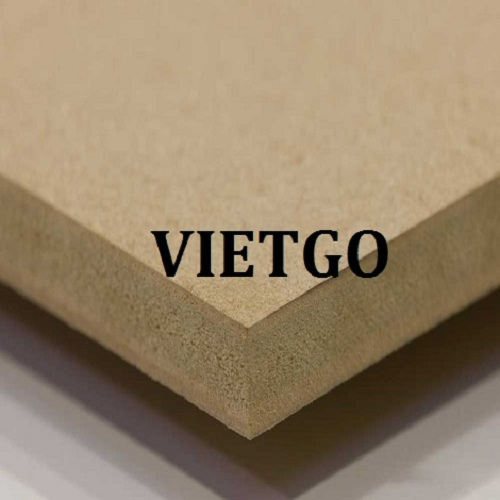 Opportunity to export 200m3 of MDF boards monthly to Uzbekistan market