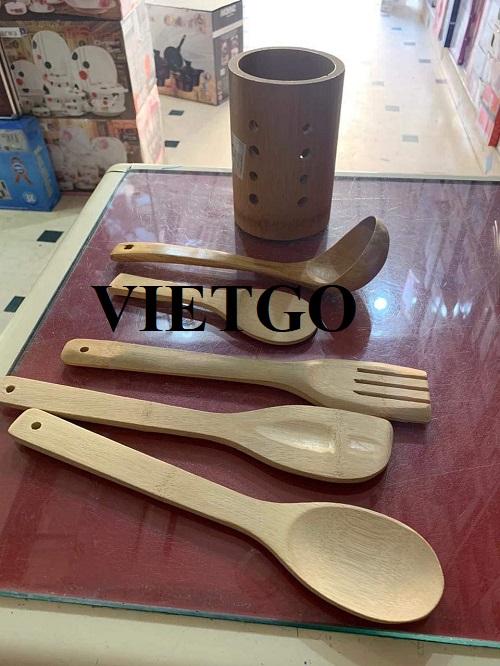 Cơ hội xuất khẩu muỗng múc canh và xẻng xào nấu bằng gỗ sang thị trường Ai Cập