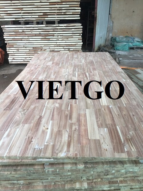 Opportunity to export finger joint boards to the Indian market
