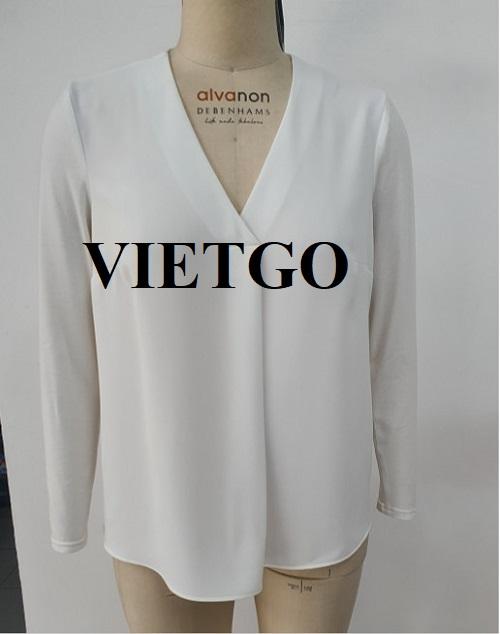 (Cập nhật thông tin) Cơ hội xuất khẩu 8.000 chiếc áo blouse nữ sang thị trường Anh