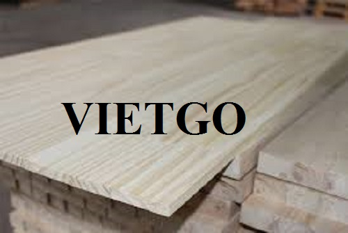 Opportunity to export pine wood finger joint boards to the Italian market