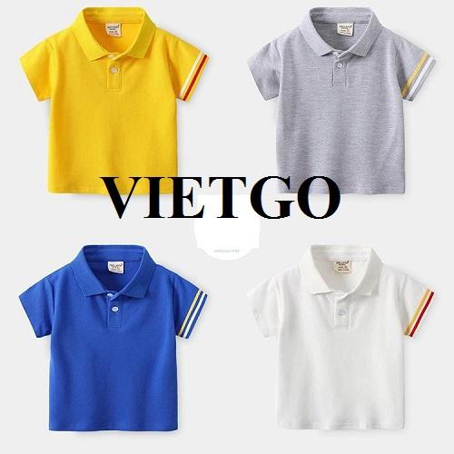 Cơ hội xuất khẩu mặt hàng quần áo trẻ em tới thị trường Philippines