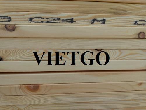 Thương nhân người Mỹ cần nhập khẩu 2 container 40ft gỗ thông xẻ cho dự án kiến trúc căn hộ sắp tới