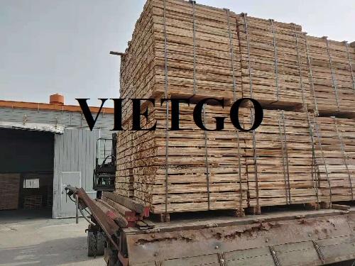 Cơ hội xuất khẩu 5 container 40ft gỗ keo xẻ hàng tháng sang thị trường Hàn Quốc