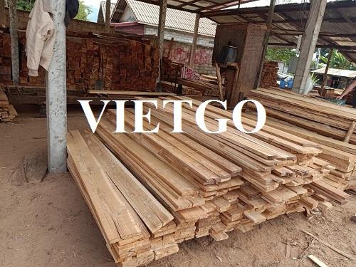 Cơ hội xuất khẩu 5 container 40ft gỗ teak xẻ hàng tháng sang thị trường UAE