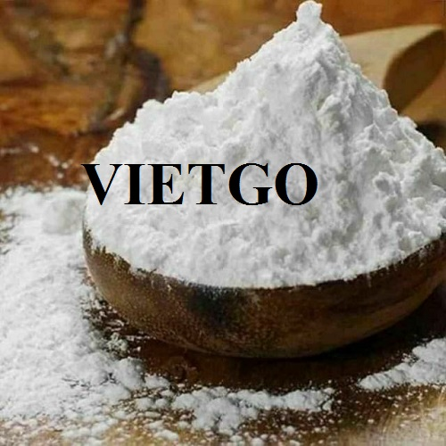 Opportunity to export Tapioca Starch to the Pakistan market