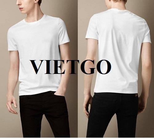 Cơ hội cung cấp sản phẩm áo T – Shirt cho một doanh nghiệp tại Philippines