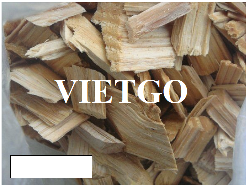 Opportunity to export large quantities of acacia wood chips every year to the Chinese market