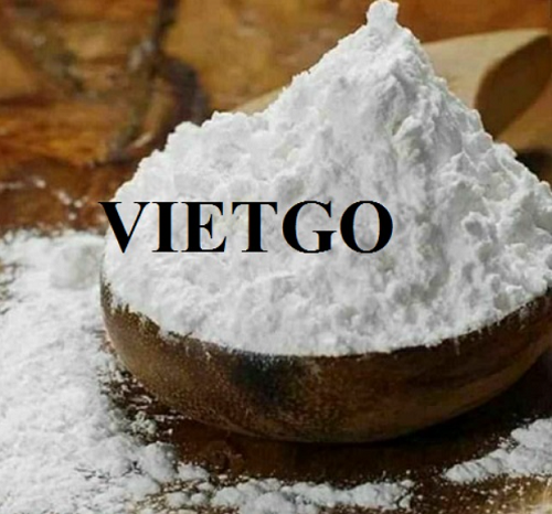 Opportunity to export tapioca starch to the Indonesian market