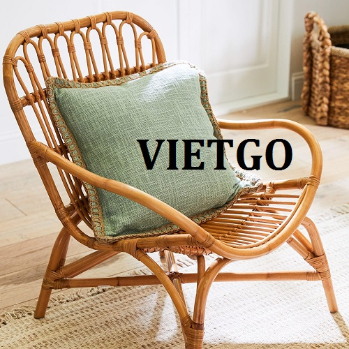Opportunity to export rattan chairs for a company specializing in furniture business from the USA