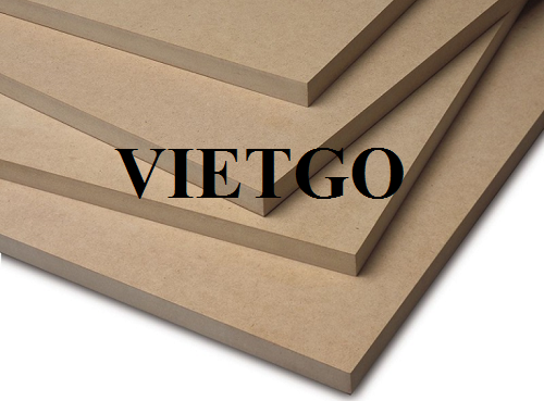 Opportunity to export 80,000 MDF boards to the US market within 1 year