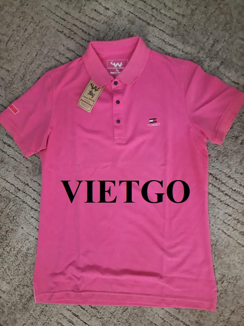 (Urgent) Opportunity to export 1 container of 40HQ of Polo shirts to the US market