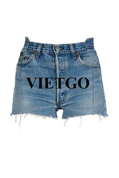 (Urgent) Opportunity to export women's jean shorts to the US market