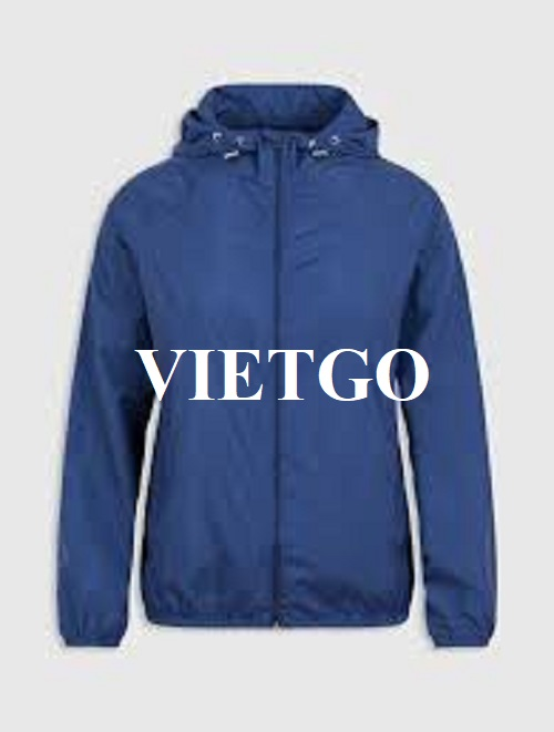 Opportunity to export Windbreaker for a potential customer from Malaysia